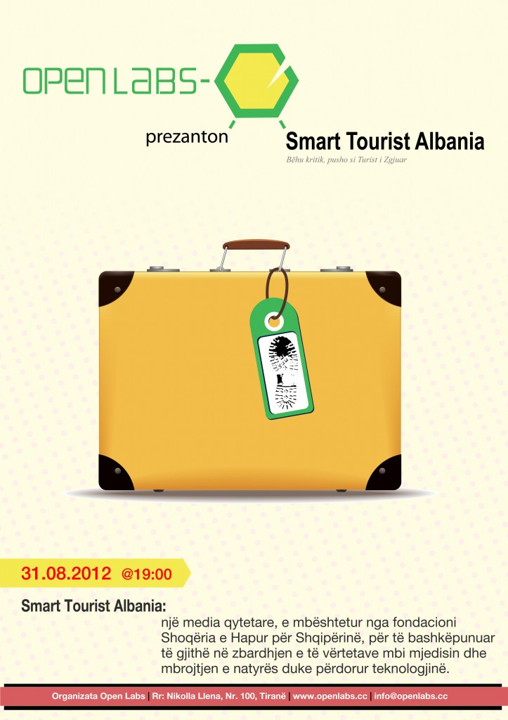 Open Labs prezanton Smart Tourist Albania.